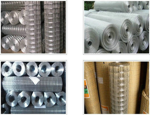 Cina Korosi Perlawanan Square Wire Mesh, Low Carbon Steel 4x4 Welded Wire Mesh pemasok