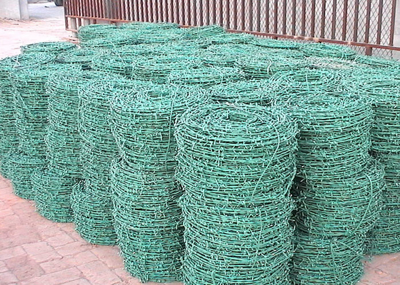 Cina Krom berduri Galvanized Wire, Wire Wire Fence For Protective Construction pabrik